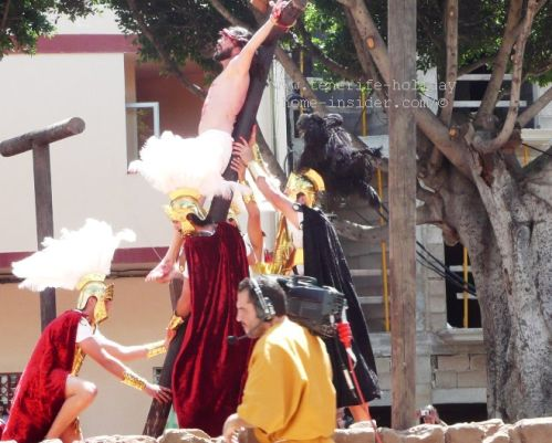 Passion Easter Plays Adeje Tenerife art in the street
