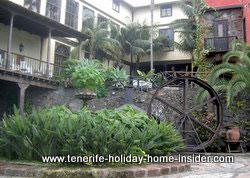 patios kiu center casa lercaro Spanish architecture of Tenerife houses