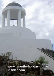 Penon del fraile (monk's rock) Puerto de la Cruz landmark