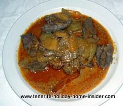 Thai beef curry Asian cuisine Tenerife