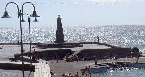 Bajamar faro (lighthouse) Tenerife Spain