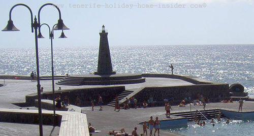 Bajamar faro (lighthouse) Tenerife Spain