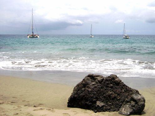 Playa Blanca Caleta Diego Hernandez by Adeje.