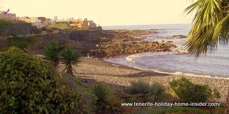 Playa Caleta Interian Garachico beach