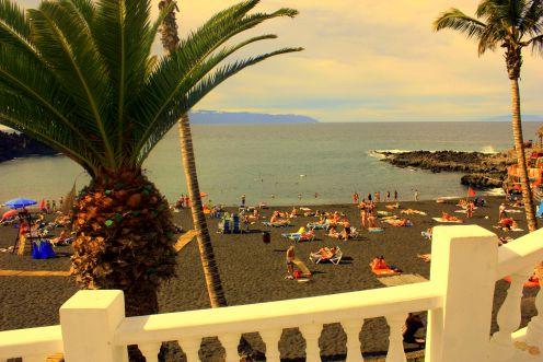 Playa de la Arena Puerto de Santiago Los Gigantes Tenerife.
