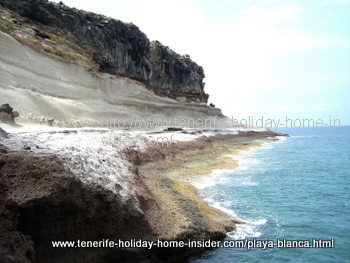 Playa Diego Hernandez Caleta beach Adeje