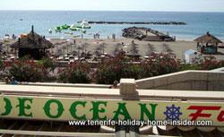 playa fanabe beach adeje spain