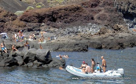 Beach Playa Faro del Teno Tenerife
