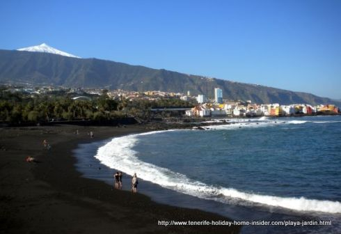 Playa Jardn Garden beach photo of Puerto de la Cruz