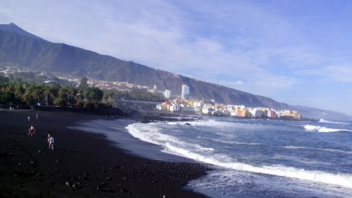 Playa Jardin of October 22 of 2016