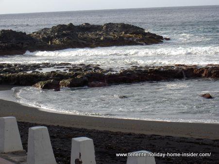 Playa La Arena Tacoronte sand beach