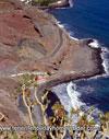 Playa las Gaviotas beach landscape Anaga mountains