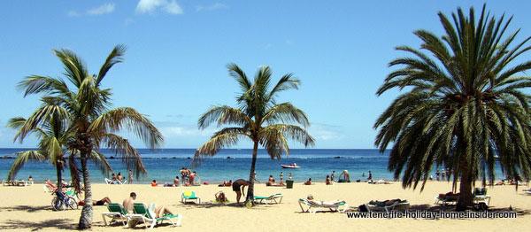 Playa las Teresitas Tenerife Santa Cruz beach