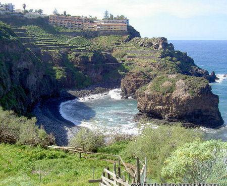 Playa los Roques of Los Realejos border Puerto de la Cruz.