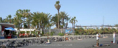 Martianez beach with back of lidoTenerife