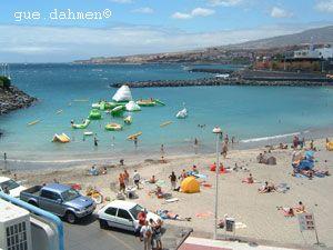 Playa Puerto Colon Tenerife Spain