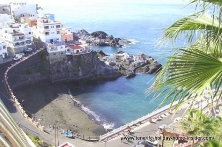 Playa Puerto Santiago Los Gigantes