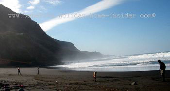 Playa Socorro surf beach Los Realejos Tenerife
