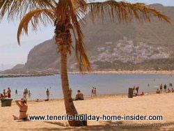 Playa Teresitas Beach by Santa Cruz Spain