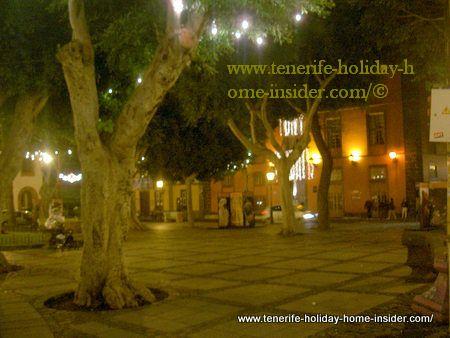 Plaza del Adelantado of La Laguna Tenerife