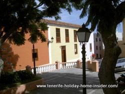 Plaza La Parra town sqare finca Tenerife hacienda de los Principes