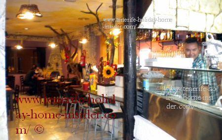 Pomodoro y Basilico Restaurant at La Longuera, 32 Toscal Los Realejos Tenerife Spain.