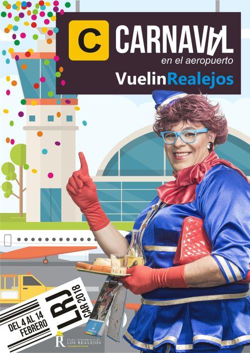 Poster Carnaval Realejos 2018 Vuelin