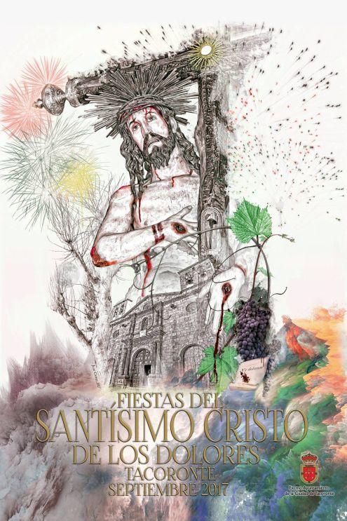 Fine art Poster for Fiesta del Cristo 2017  of Tacoronte by Juan D.Cairós.