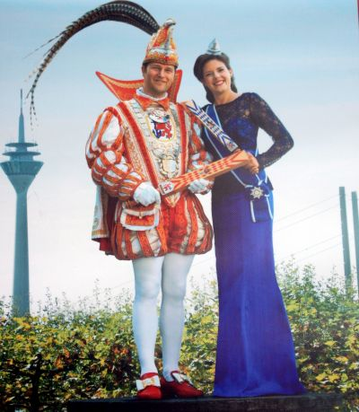 Prinzenpaar Duesseldorf Prince Christian III and Venetia Alina in Tenerife of 2017.