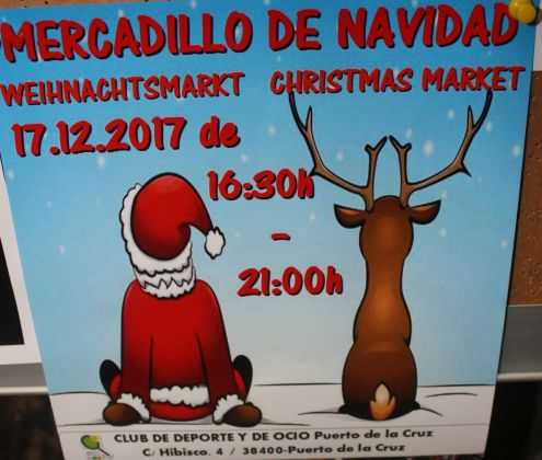 Puerto Cruz Christmas Market at Club de Deporte in C/Hibisco,4 from 16.30-21.00