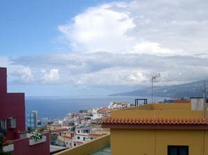 my balcony view of sun puerto cruz realejos