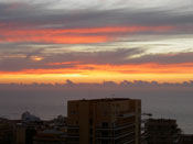 Puerto Cruz sundown Tenerife