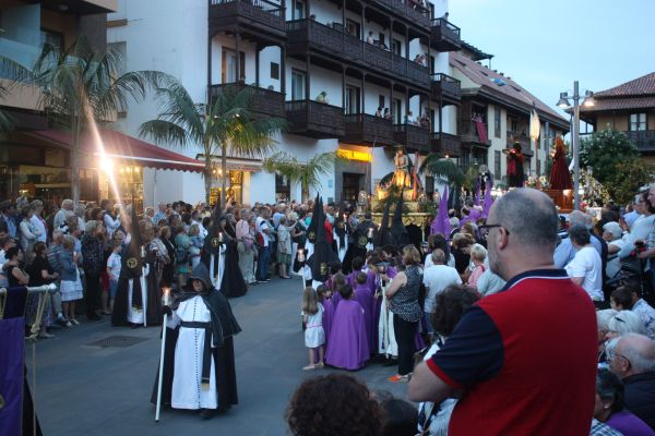 Puerto de la Cruz event of fraternities.