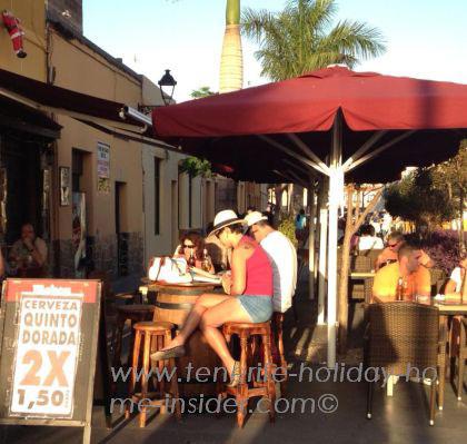 Punta Brava corner cafe