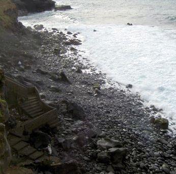Punta Brava stairs near Punta Gorda