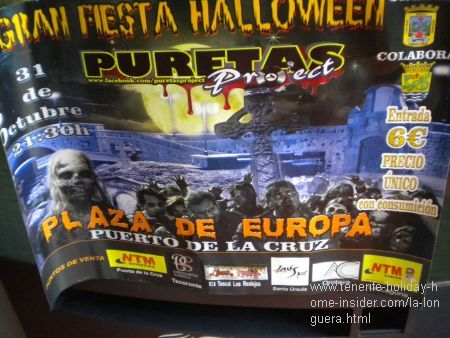 Puretas Halloween Party 2015 ticket sale by Libreria Romantica Toscal Longuera