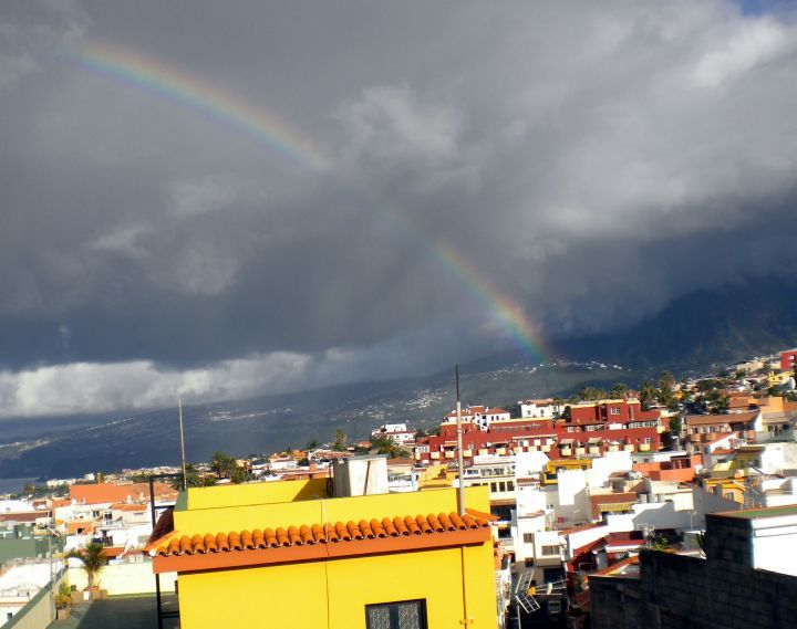 Rain Bow over the Orotava Valley