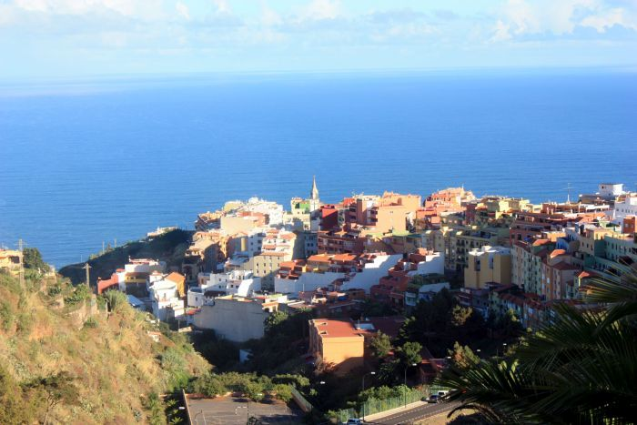 Realejo San Agustin which is near the TF5 freeway of Tenerife.