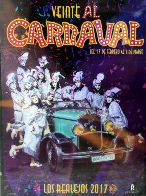 Los Realejos previous carnival poster of 2017.