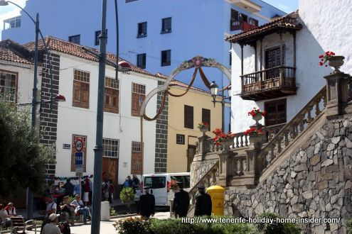 Realejos Casco antiguo Old quarters by one of most historical Tenerife churches, 5 minutes from Casa Consistorial