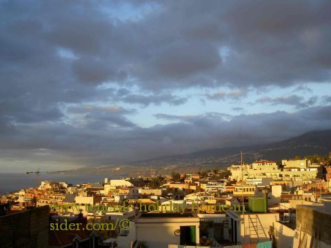 Realejos suburb Tenerife