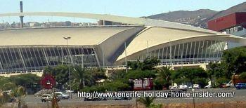 Recinto Ferial by Calatrava in Tenerife.