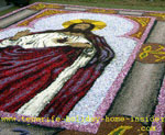 Religious art body of christ june celebration La Orotava Tenerife