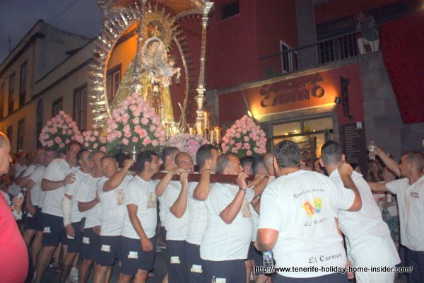 Religious festival in Los Realejos where its seafarers have had a strong brotherhood for almost 300 years with those of Puerto de la Cruz.