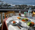 Restaurant Rocamar Garachico with ocean view