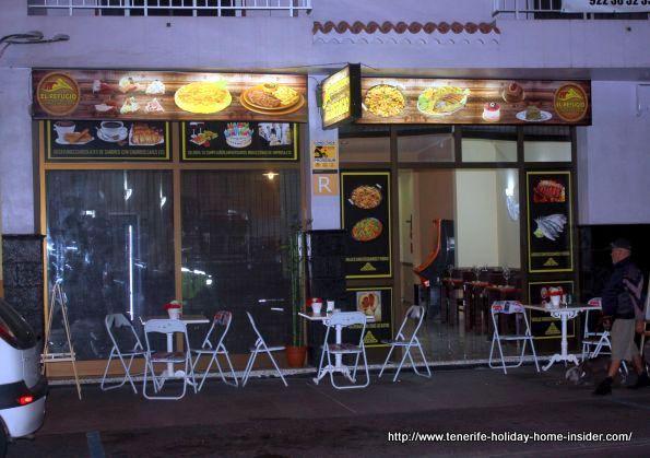Restaurante El Refugio for Tapas and local Tenerife cuisine in Calle La Longuera,22