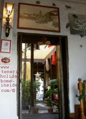 Restaurante Rocamar Garachico colonial look