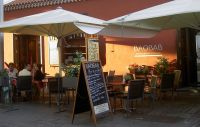 Restaurante Terraza Baobab in the Tenerife capital Santa Cruz