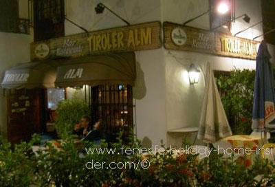 Restaurante Tiroler Alm Puerto de la Cruz LaPaz