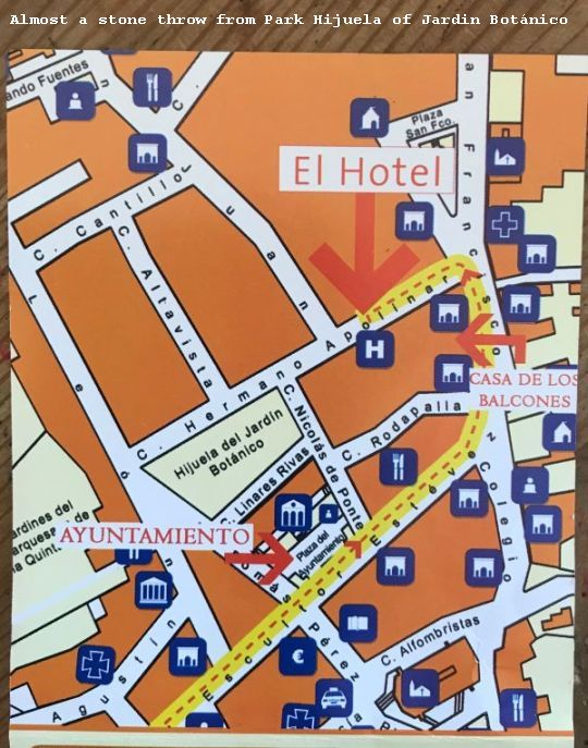 Restaurante Victoria Orotava street map